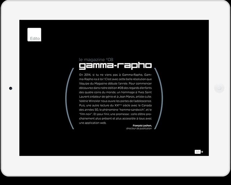 Gamma-Rapho Le magazine